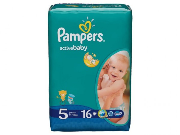 Подгузники Pampers Active Baby junior 11-18 кг (16 шт)