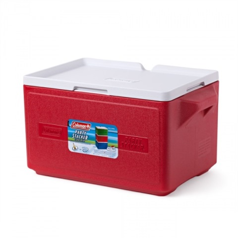 Термобокс Coleman Cooler 48 Can Stacker-Red C004 76501375237 (26 л)