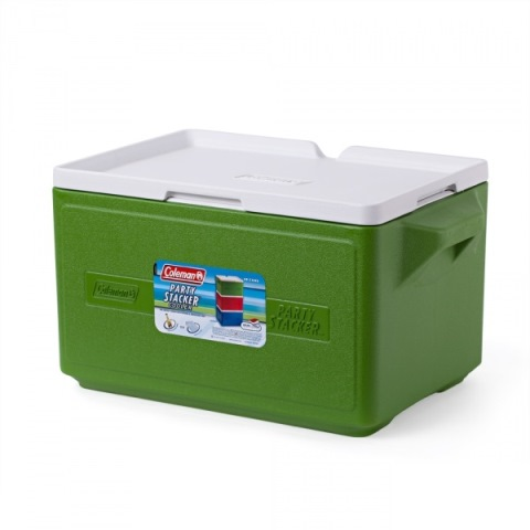 Термобокс Coleman Cooler 48 Can Stacker-Green C004 76501375237 (26 л)