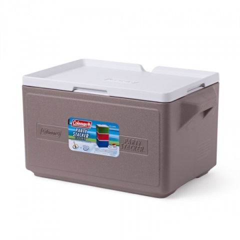 Термобокс Coleman Cooler 48 Can Stacker-Gray C004 76501375244 (26 л)