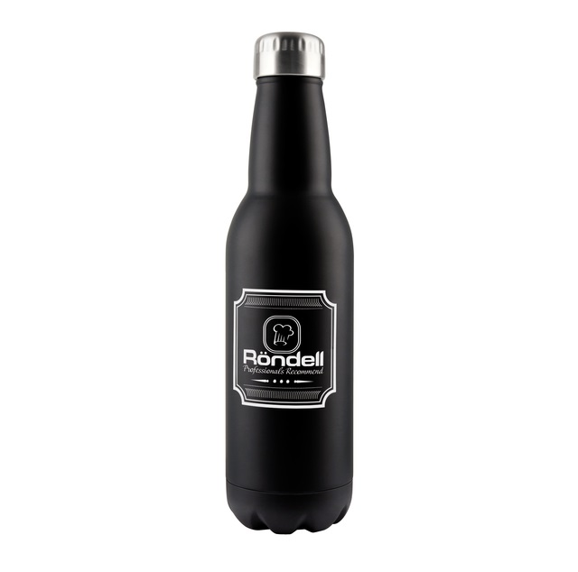 Термос RONDELL Bottle Black RDS-425 (0,75 л) ― E-POSUD